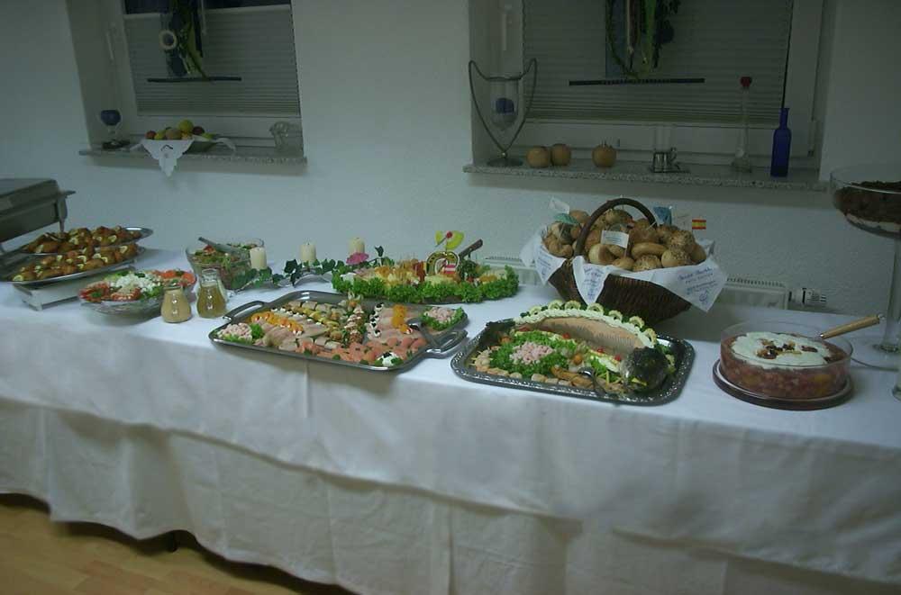 Tisch - Büschers Gesellschaftshaus